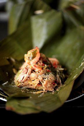 Resep Bothok Jamur Tiram Dengan Lamtoro Dan Udang Penyajian Makanan Jamur Resep Smoothie Buah