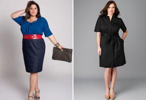9d8b13f04461 модная одежда для полных девушек   полный стиль   Pinterest