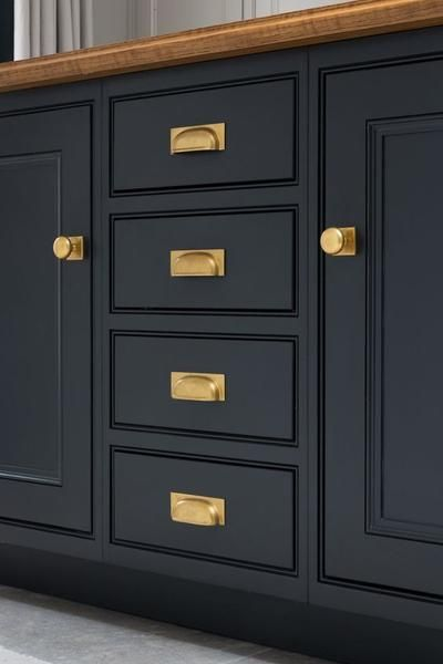 Pin On Brass In The Home, Brass Kitchen Cabinet Pulls