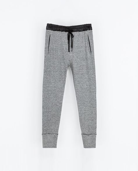 de4499a80bf69 Image 7 of GREY VELOUR TROUSERS from Zara