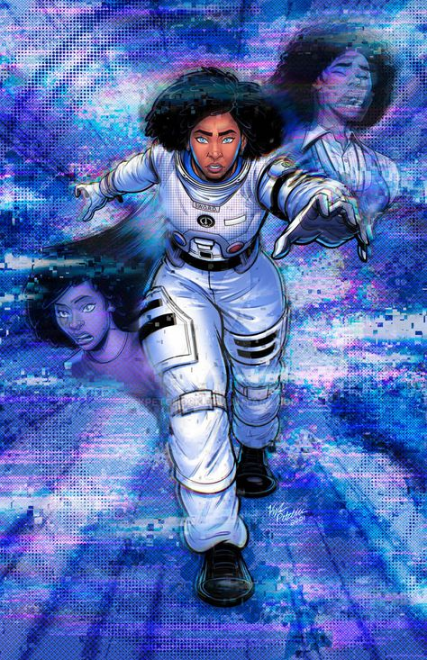 Monica Rambeau Becomes Photon - WandaVision by kpetchock on DeviantArt