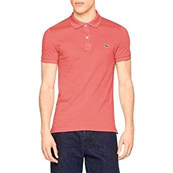 buy popular f3276 50541 Lacoste Herren Polo T-shirt Ph4012, Pink (Amaryllis F9c ...