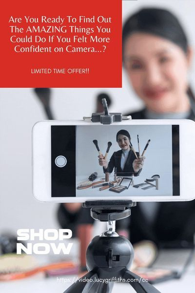 Are You Ready To Feel Amazing On Camera Video Tips Tricks On How Feel Confident Marketing Ideas In 2021 How To Find Out Video Marketing Social Media Help