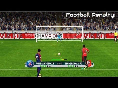 PSG vs Rennes | Ligue 1 | Penalty Shootout | PES 2017 ...