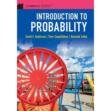 Cambridge Mathematical Textbooks Introduction To Probability Hardcover Walmart Com In 2021 Textbook Nanotechnology Calculus Background