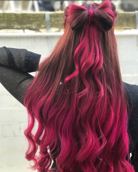 Red Wigs Lace Frontal Wigs Spicy Ginger Hair Color Curly Pink Lace Front Wig Red Wigs For Sale Midnight Blue Wig Human Hair Blood Red Hair Ginger Hair Color, Hair Color Purple, Hair Dye Colors, Cool Hair Color, Pink Hair, Dip Dye Hair, Dye My Hair, Hair Dye For Kids, Dip Dyed