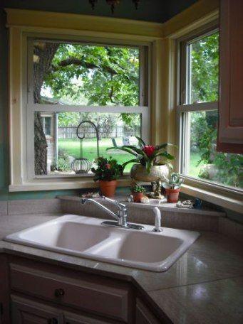 Kitchen Sink Window Ledge Islands 46 Ideas Kitchen Sink Design Corner Sink Kitchen Modern Kitchen Sinks