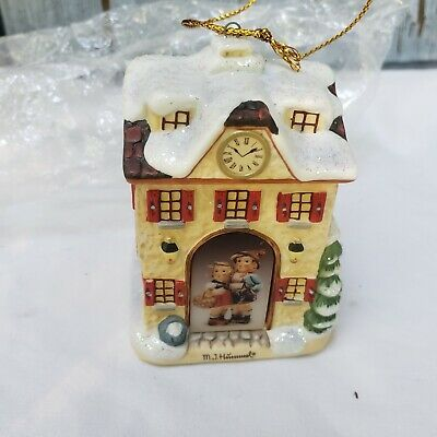 Mi Hummel Christmas Ornaments 2020 M.I. Hummel Bavarian Village Ornament Clock Shoppe Illuminates