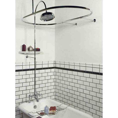 Clawfoot Tub Shower Conversion Kit Clawfoot Tub Shower Curtain