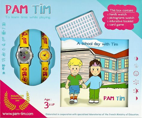 Montre de maternelle Pam Tim (montrepamtim) sur Pinterest