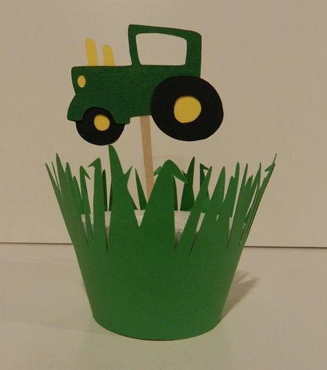 I might be able to make something like this... John Deere party