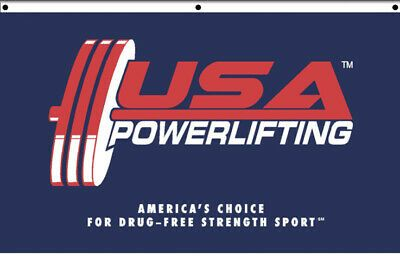 USA Powerlifting Banner/Flag (USAPL Powerlifting) #fashion #home #garden #homedcor #tapestries (ebay link)