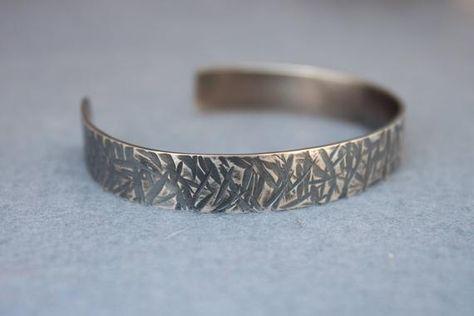 Herren Silber Armband Herren Armband Männer Metall | Etsy