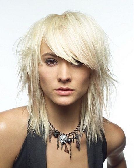 Medium Edgy Haircuts Choppy Hair Medium Length Hair Styles Medium Hair Styles