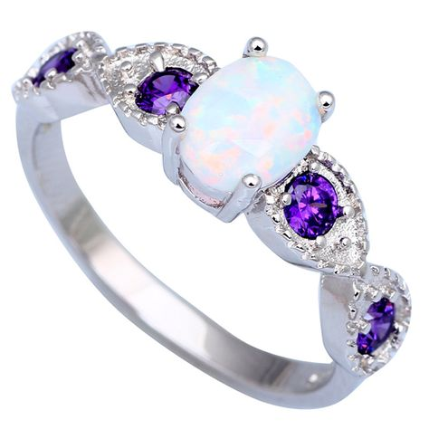 Parti Marquise Cut rainbow Topaz Amethyst Tanzanite Silver Ring Taille 6 7 8 9 10