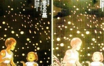 Hidden Image In Grave Of The Fireflies Poster Theres A B29 In The Back And Not All Of The Specks Of Light Grave Of The Fireflies Hidden Images Firefly Movie