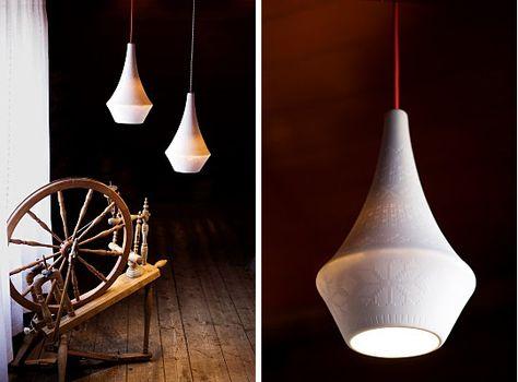 Vegglampe Art deco – Skogen Design