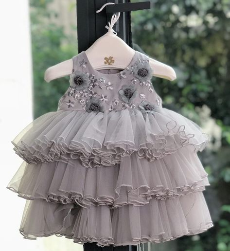 5bc09af0 Sequin Tiered Dress-Made To Order - High Quality. Cute & Beautiful Floral  Applique Round Neckline Sleeveless Tiered Layered Baby Infant Toddler Flower  Party ...