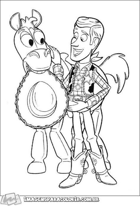 Toy Story Bala No Alvo 05 Paginas Para Colorir Desenho Toy Story