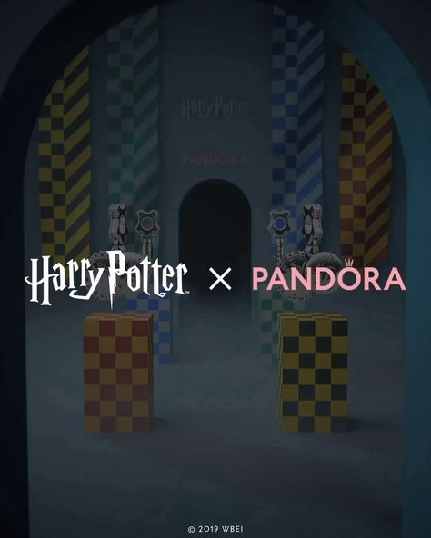 Join one of the iconic Hogwarts houses and wear its symbol proudly to show your true character. #HarryPotterxPandora