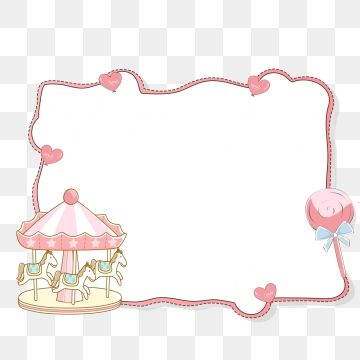 Pink Lace Pink Border Romantic Border Sweet Border Dream Playground Hand Painted Pink Border Cartoon Border Png Transparent Clipart Image And Psd File For Fr Graphic Design Background Templates Pink Lace