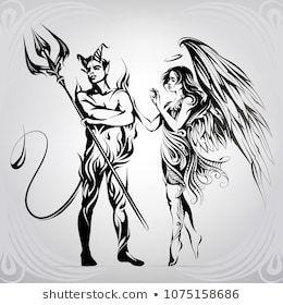 Engel Teufel Tattoo Google Suche Engel Teufel 0