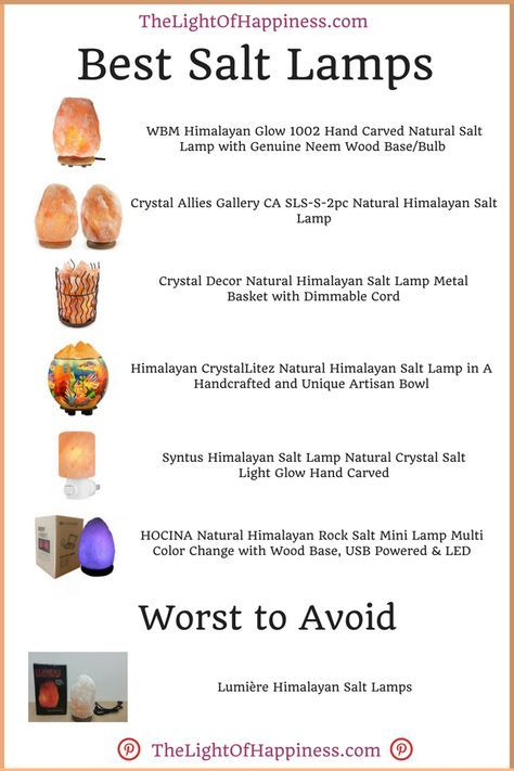 Best Himalayan Salt Lamps Health And Natural Remedies