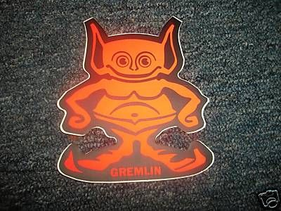 "american motors amc gremlin man logo decal 6"" | amc gremlin"