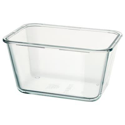 Ikea 365 Food Container Rectangular Glass Ikea Food