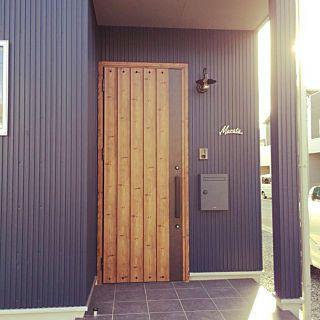 玄関 入り口 サーファーズハウスに憧れる カリフォルニアスタイル