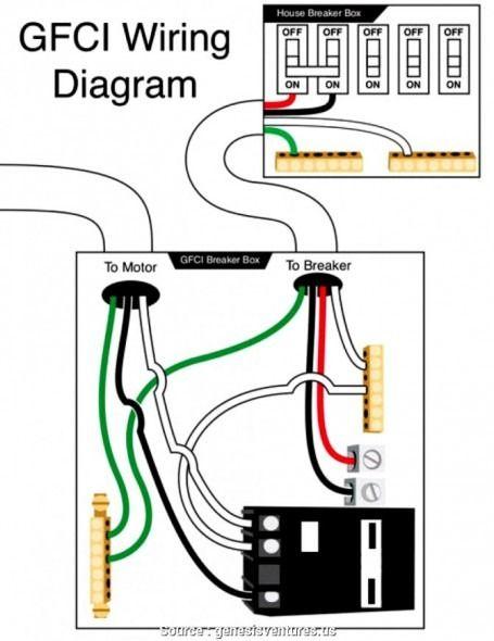 220 volt gfci breaker wiring diagram  gfci electrical