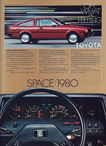 Classic Vintage Advertisement Ad D29 1980 Toyota Celica Supra USGP Race