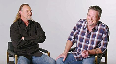 """Blake Shelton and Trace Adkins' hit song """"Hillbilly Bone"""" is less of"""