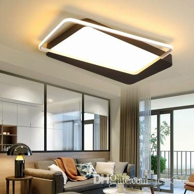 Modern Bedroom Lighting Design Beautiful 2019 Black Square Modern Led Ceiling Light Indoor Lighting For