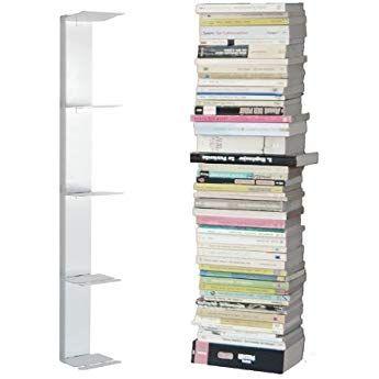 Radius Design Booksbaum Bucherregal Single Wand Klein Weiss 2tlg Best Aus Halterung Einlegeboden W Decor Shelves