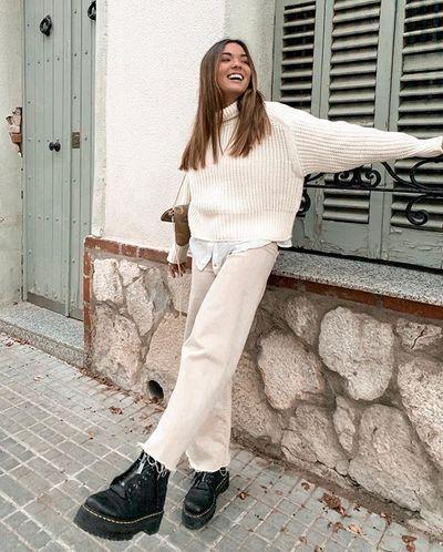 Le total look blanc s'impose comme le motto mode de cetau...