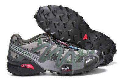 salomon speedcross 3 athletic running outdoor hiking shoes leather