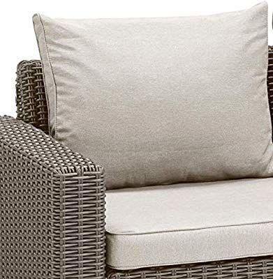 Allibert By Keter California 3 Seater Rattan Sofa Outdoor Garden