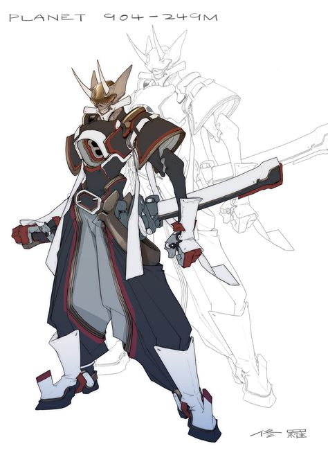 Artstation 星界远征军 Star Expeditionary Force Shourou Daniel Zhao Character Design Character Art