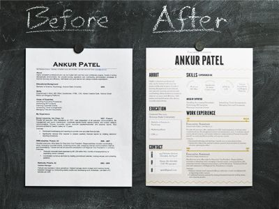Quick-Change Patel Fonts, Layouts and Helpful hints - how to create a resume resume