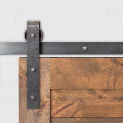 Artisan Hardware Classic Sliding Standard Single Barn Door Hardware Kit Wayfair In 2020 Barn Doors Sliding Barn Door Hardware Barn Door