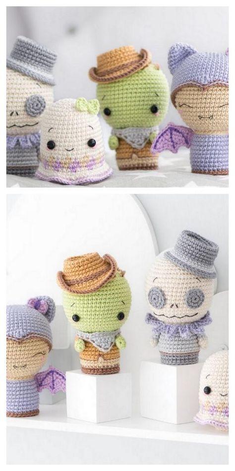 Crochet Teddy Bear With Free Patterns - Diy & Crafts Crochet Toys Patterns, Amigurumi Patterns, Stuffed Toys Patterns, Amigurumi Doll, Love Crochet, Crochet For Kids, Single Crochet, Crochet Hats, Knit Crochet