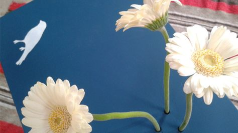 Rok en rol - how to turn a table into a vase!
