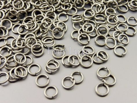 Rose Gold Filled Open Jump Rings Pack of 10 0.6mm wire, approx. AWG 22