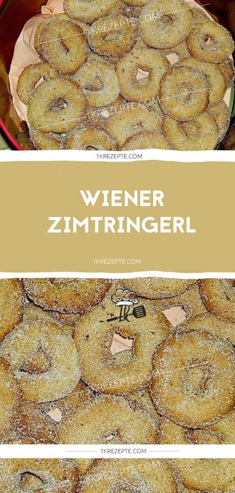 WIENER ZIMTRINGERL - 1k Rezepte