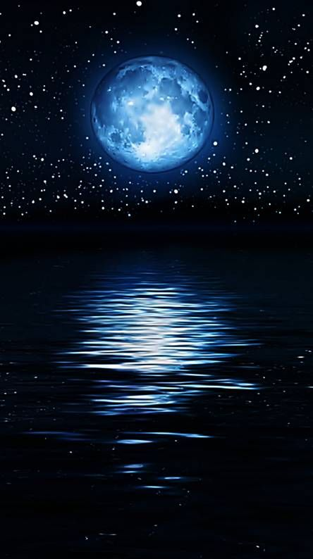 Moonshine Night Seascape Photography Beautiful Moon Moon Photography