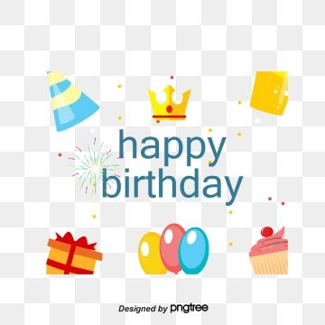 Cute And Fun Birthday Background Birthday Get Together Happy Birthday Png Transparent Clipart Image And Psd File For Free Download Birthday Background Happy Birthday Png Happy Birthday Design