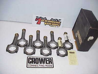 Details About 8 New Crower 5 7 I Beam 4340 Connecting Rods 2 100 Large Journal 927 Pin Sbc Large Journals I Beam Beams