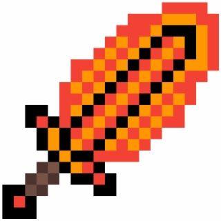 Fire Sword Espada Do Minecraft De Ferro Minecraft Sword Minecraft Diamond Sword Minecraft