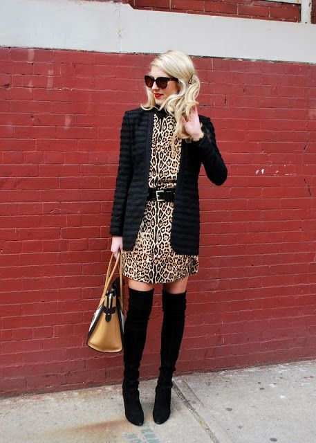Animal print dress outfits, Leopard